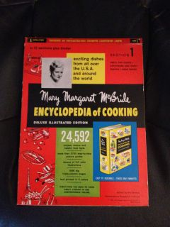 Mary Margaret McBride Encyclopedia of Cooking Deluxe Illustrated