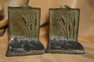 McClelland Barclay Art Nouveau Bookends Book Ends C 1910