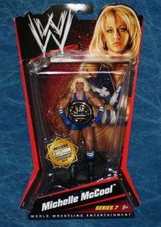 WWE Michelle McCool Mattel Championship Belt Action Figure