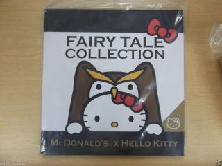 McDonalds Hong Kong Hello Kitty Fairy Tales Story Book Collection 2012