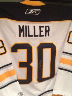 Ryan Miller Signed Jersey