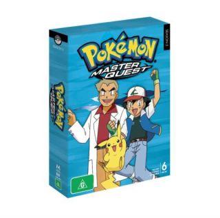 Pokemon Season 5 Master Quest 6 DVD Box Set New SEALED