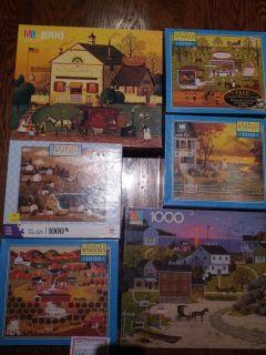 Charles WYSOCKI Jigsaw Puzzles 1000 pieces American landscape