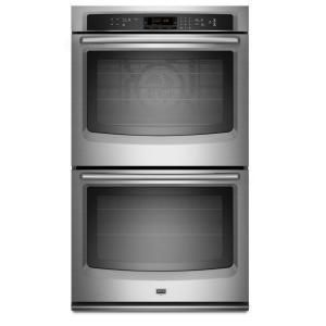 Open Box Maytag MEW9630AS 30 Electric Double Wall Oven Stainless