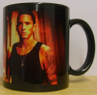 Eminem Coffee Mug Cup Marshall Mathers Slim Shady Black Mug