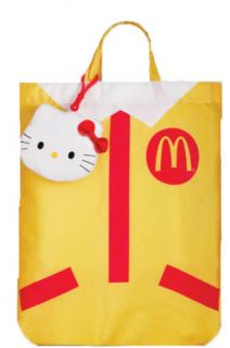 Hong Kong Exclusive 2011 McDonald x Hello Kitty Recycle Bag