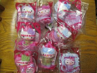 McDonalds 2011 Happy Meal Hello Kitty Complete SEALED Set