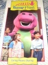 Barney Friends Time Life Caring Means Sharing VHS