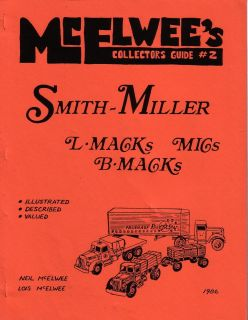 Mcelwees 2 Guide Smith Miller L F Mack Mic Lincoln Trucks