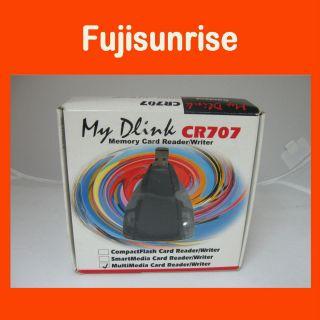 My Dlink CR707 Memory Card Multi Media USB Reader Writer