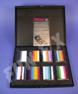 Mehron Paradise Makeup AQ Prisma Face Painting Palette 8 Prisma Cakes