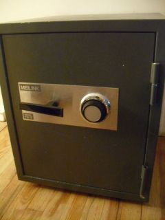 Meilink Fire Combination Lock Safe UL RATED FIREPROOF NO RUST RECENT