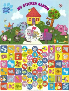 Sandylion Blues Clues Sticker Book with Stickers