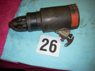Allis Chalmers WD WD45 Tractor Starter