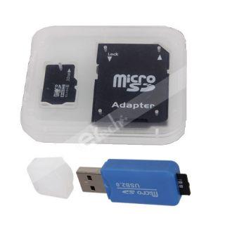 New 32GB Micro SD SDHC TF Flash Memory Card SD Card Adapter Reader