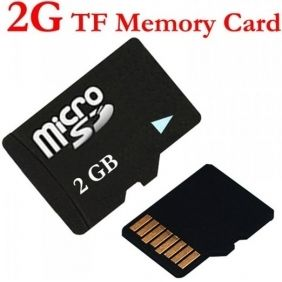 2GB MicroSD TF Memory Card with Free Adapter for Cell Phones