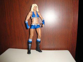 Mattel Basic Michelle McCool wwe wrestling figure divas blue gear