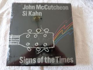 John McCutcheon Si Kahn Signs of the Times Sealed 12 inch vinyl record