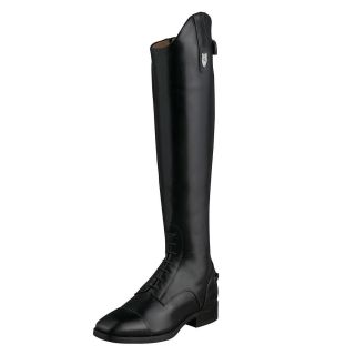 Ariat Mens Monaco Field Zip Up Tall English Riding Boots Black