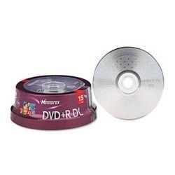 Memorex Dual Layer DVD R Discs 8 5GB