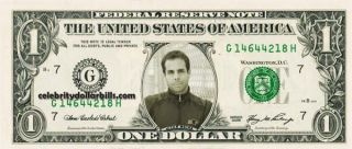 Indy Driver Vitor Meira 2 Dollar Bill Uncirculated Mint US Currency