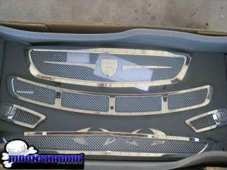 Mercedes Benz CLS CLS550 asanti Complete Mesh Grill Kit 2005 2007