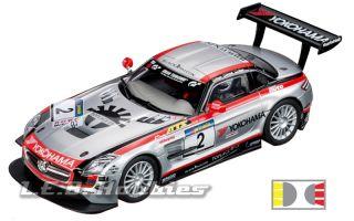 Carrera 30551 Digital 132 Mercedes Benz SLS AMG GT3 Team Black Falcon