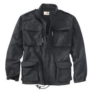 Woolrich Elite Black Algerian Jacket