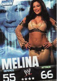 WWE Slam Attax Evolution Melina SmackDown Card