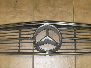 Mercedes Benz 107 Chassis 560SL Grill Star Emblem Decal