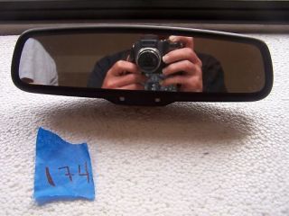 2007 Mercury Milan Rear View Mirror GNTX 455 015892