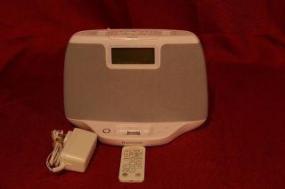 MEMOREX AUDIO SYSTEM CLOCK RADIO iPOD iPHONE DOCKING STATION