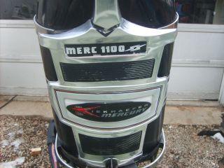 Mercury 1100SS Outboard Boat Motor 110 HP 6cyl w/Tilt, Trim & Controls