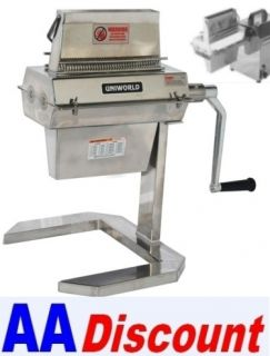New Meat Tenderizer for 12 Hobart Mixer Hub or Hand Crank Uniworld