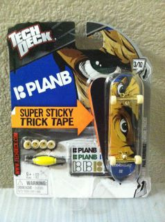 Tech Deck Plan B 96mm Skateboard Paul Rodriguez Sticky Trick Tape