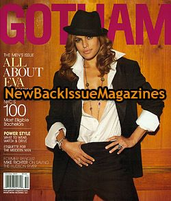 Gotham 10 07 Eva Mendes Last Night Hitch Ghost Rider NW