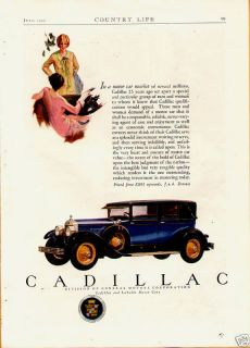1927 Cadillac Sedan Town Car Blue Color Orig Vin Ad E