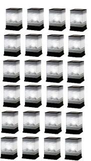 24 Stainless Steel Fence Post Solar Light