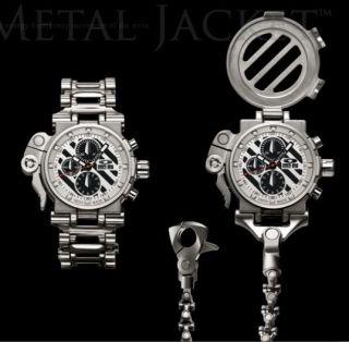 Oakley Elite Full Metal Jacket FMJ Titanium Watch 25 Jewls swiss made