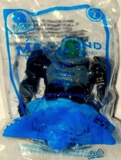Megamind Bad Blue Brilliant Minion Happy Meal McDonalds Toys 7 2010