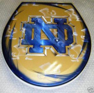 Notre Dame Design Toilet Seat Metal Airbrush