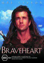 Braveheart Mel Gibson New DVD