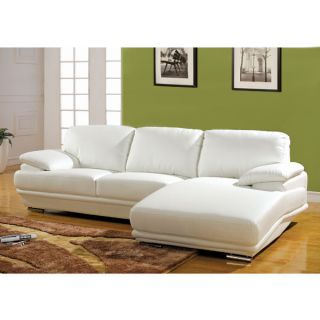 Meriden Bicast Leather Sectional Sofa