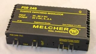 Melcher PSR 248 7LC 24VDC Power Supply