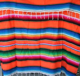 Serape Rat Rod Mexican Blanket Hot Rod Seat Cover 1957