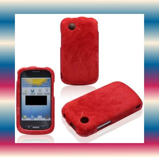 Marble Red Straight Talk ZTE Merit 990G Avail Phone Cover Hard Case