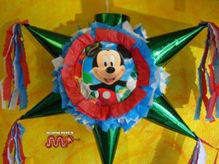 Pinata Mickey Mouse Party Mexican Craft for Candy