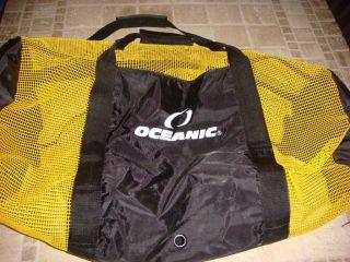 Oceanic Scuba Diving Dive Full Mesh Gear Equipment Tote Bag