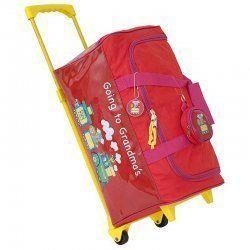 Duffle Bag Going to Grandmas Red by Mercury Luggage GG 633 TR