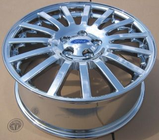 New 18 Factory Mercury Montego Ford 500 Chrome Wheels Rims